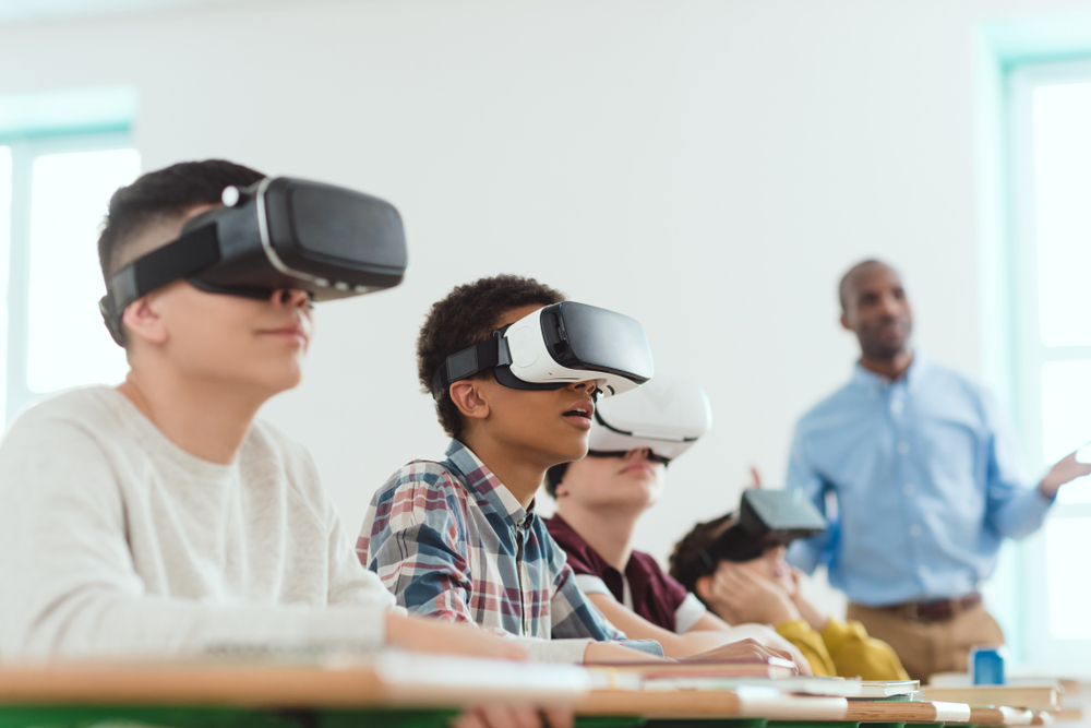 VR devices for learners