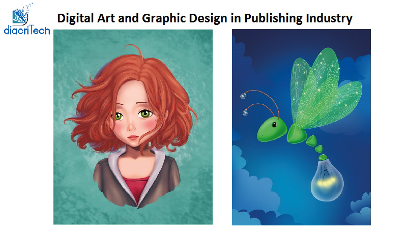 Digital Art and Graphic Design  in Publishing Industry